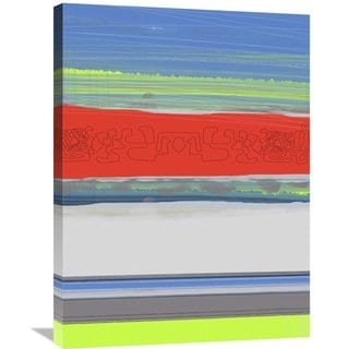 Naxart Studio 'Abstract Blue View 4' Stretched Canvas Wall Art