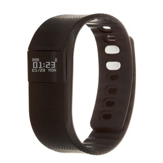 Zunammy Black Activity Tracker Watch with Call and Message Reminders