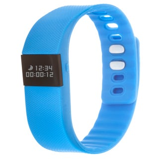Zunammy Blue Activity Tracker Watch with Call and Message Reminders