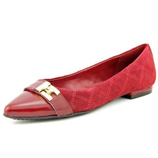 Tommy Hilfiger Women's 'Katya' Regular Suede Dress Shoes