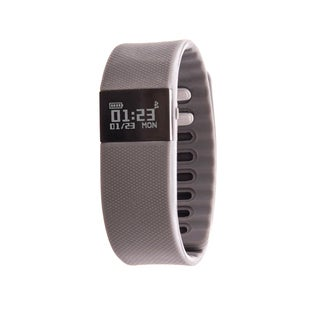 Zunammy Grey Activity Tracker Watch with Call and Message Reminders