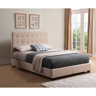 Mantua Stratford King Taupe Platform Bed