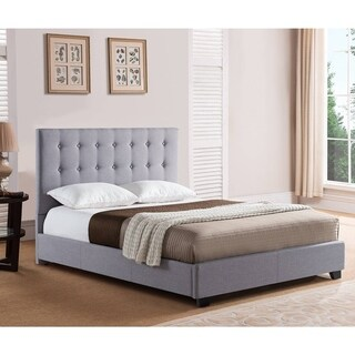 Mantua Stratford Queen Grey Platform Bed