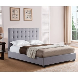 Rize Sebright King and California King Size Grey Upholstered Headboard