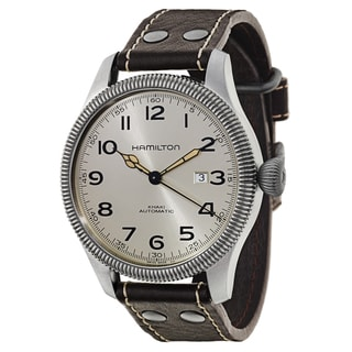 Hamilton Men's H60515593 Leather Watch