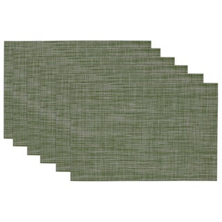 Grey Tonal Tweed Placemats (Set of 6)