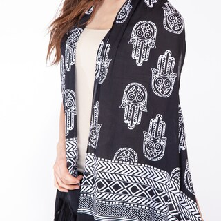 Harmonious Hamsa Waterfall Vest (Indonesia)