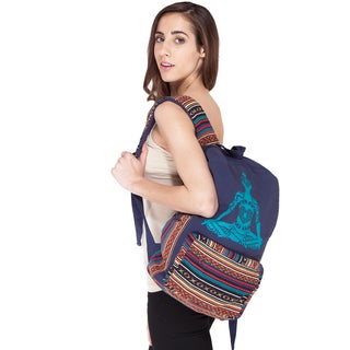 Handmade Raise Your Kundalini Backpack (Nepal)