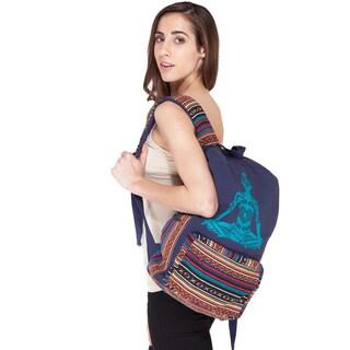 Handmade Raise Your Kundalini Backpack (Nepal)
