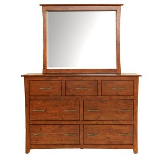 Simply Solid Avett Solid Wood 7-Drawer Dresser