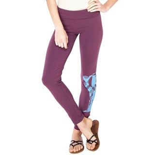Beautiful Soul Organic Yoga Leggings (Nepal)