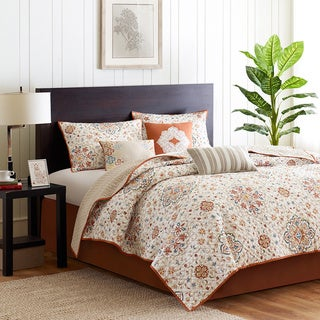 Madison Park Maya 6-piece King Size Coverlet Set (As Is Item)