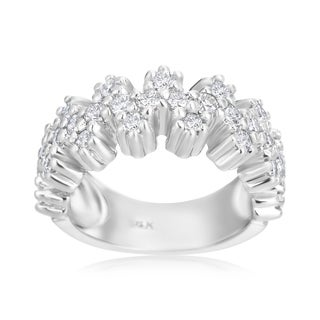 Andrew Charles 14k White Gold 1ct TDW Diamond Ring