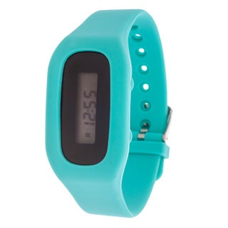 Zunammy Pop Athletic Rechargeable Fitness Activity Tracker Blue Watch