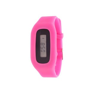 Zunammy Pop Athletic Rechargeable Fitness Activity Tracker Pink Watch