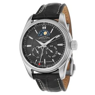 Armand Nicolet Men's 9642B-2-NR-P974NR2 Leather Watch