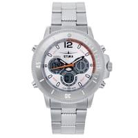 Stuka Men's SR-71 White Analog/ Digital Hybrid Dial Watch