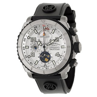 Armand Nicolet Men's T614AGN-AG-G9610 Rubber Watch