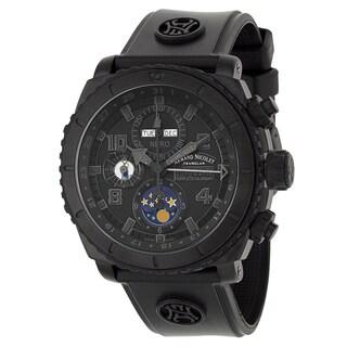 Armand Nicolet Men's T614AQN-NR-G9610 Rubber Watch
