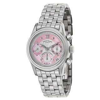 Armand Nicolet Women's 9154A-AS-M9150 Stainless Steel Watch