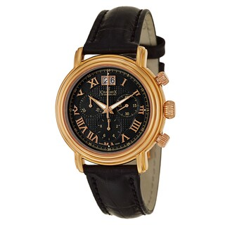 Charmex Men's 1756 Leather Watch