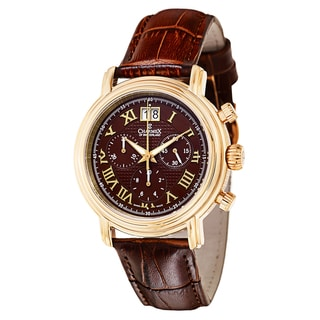 Charmex Men's 1758 Leather Watch