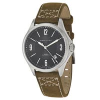 Hamilton Men's H76565835 Leather Watch - brown