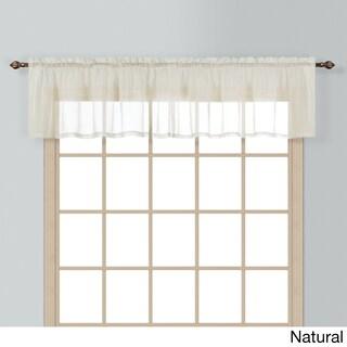 Luxury Collection Batiste Window Valances (Option: Beige)