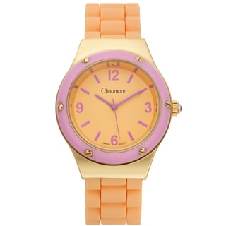 Chaumont Women's Colorful Silicone Renata Watch