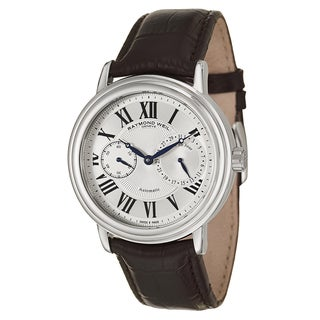 Raymond Weil Men's 2846-STC-00659 Leather Watch