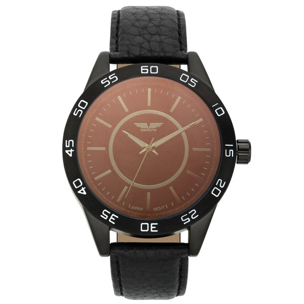 Deporte Men's Silverstone Textured Dial Core Watch