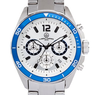 Aubert Freres Men's Stainless Steel Ramsay Chronograph Quartz Watch
