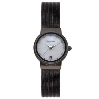 Chaumont Women's Stainless Steel Dessay Mother of Pearl Watch