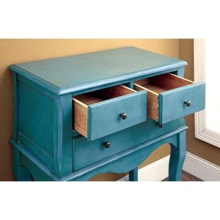 Furniture of America Eloisa Vintage Style 3-drawer Hallway Table