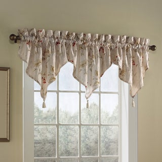 Luxury Collection Chantelle Crushed Voile Ascot Valance with Tassel