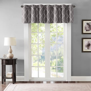 Lined BombayTeramo Embroidered Polyoni Window Valance