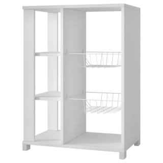 Accentuations by Manhattan Comfort Useful Pasir Pantry Rack with 4 Shelves and 2 Racks