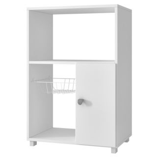 Accentuations by Manhattan Comfort Clever Bedok Kitchen Organizer with 3 Shelves and 1 rack