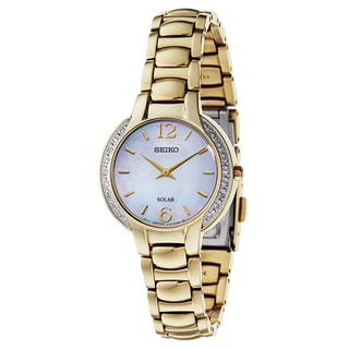 Seiko Women's SUP258 Stainless Steel Watch