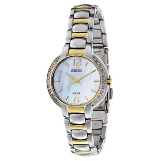 Seiko Women's SUP254 Stainless Steel Watch