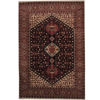 Herat Oriental Persian Hand-knotted Kashan Wool Rug (8' x 11'9)