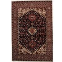 Handmade Herat Oriental Persian Kashan Wool Rug (Iran) - 8' x 11'9