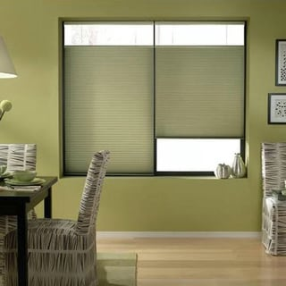 First Rate Blinds Bay Leaf 26 to 26.5-inch Wide Cordless Top Down Bottom Up Cellular Shades