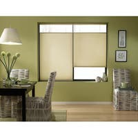 First Rate Blinds Ivory Beige 26 to 26.5-inch Wide Cordless Top Down Bottom Up Cellular Shades