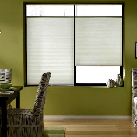 Shop First Rate Blinds Cool White 22 to 22.5-inch Wide Cordless Top on