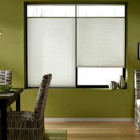 First Rate Blinds Cool White 22 to 22.5-inch Wide Cordless Top Down Bottom Up Cellular Shades