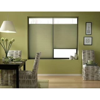 Bay Leaf 20 to 20.5-inch Wide Cordless Top Down Bottom Up Cellular Shades