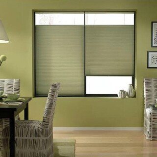 Bay Leaf 22 to 22.5-inch Wide Cordless Top Down Bottom Up Cellular Shades