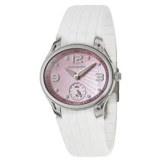 Davidoff Women's 20333 Rubber Watch