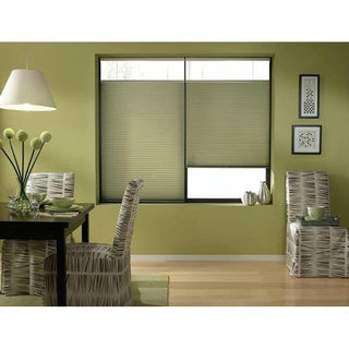 Bay Leaf 24 to 24.5-inch Wide Cordless Top Down Bottom Up Cellular Shades